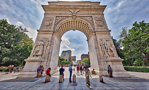 Washington Square Park, New York City, Manhattan