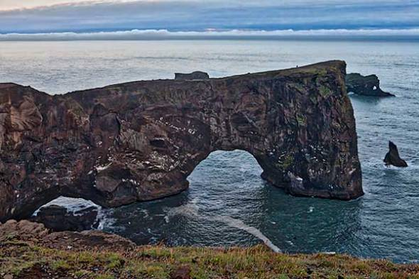 Dyrholaey Arch, Iceland