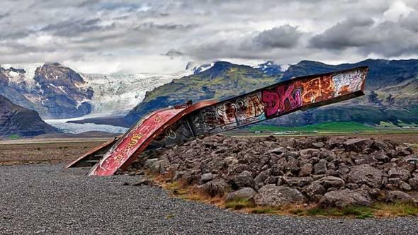Ice & Steel, Iceland, Glacier